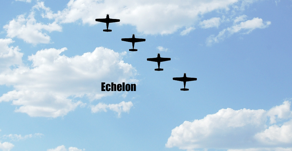 Echelon Formation Pattern