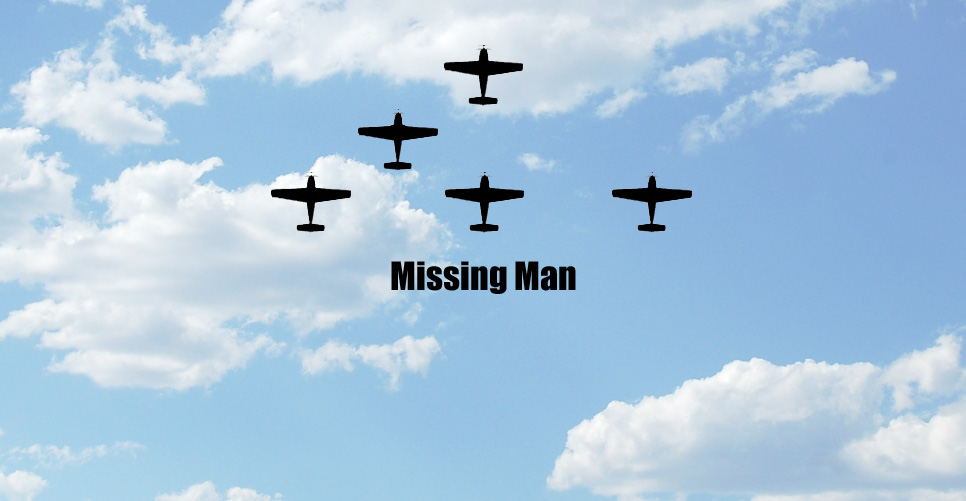 Missing Man Formation Pattern