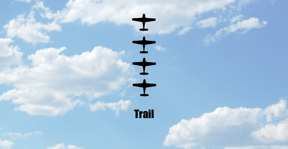 Trail Formation Pattern