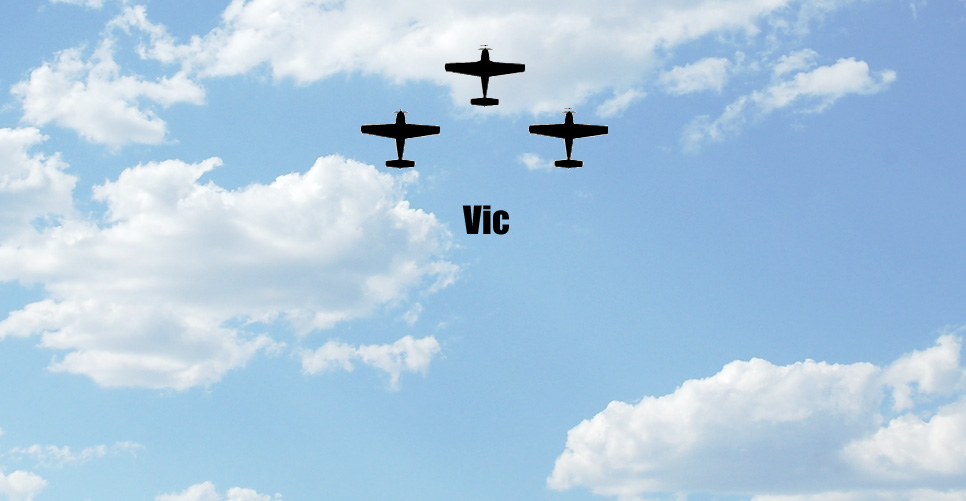 Vic Formation Pattern